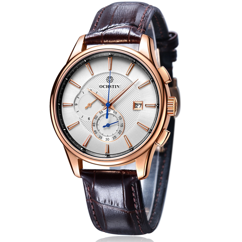 Ochstin chronograph white/gold
