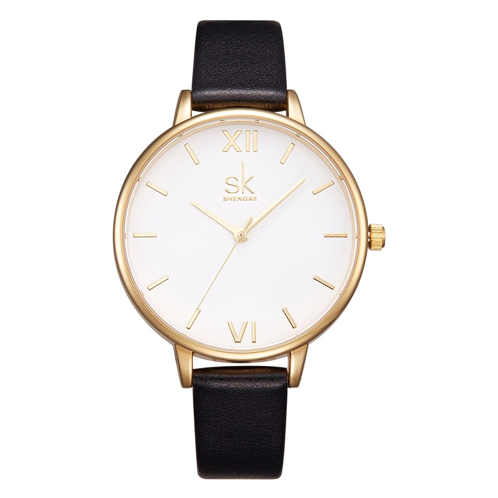 Image of   Sinobi Classic White/Gold Leather