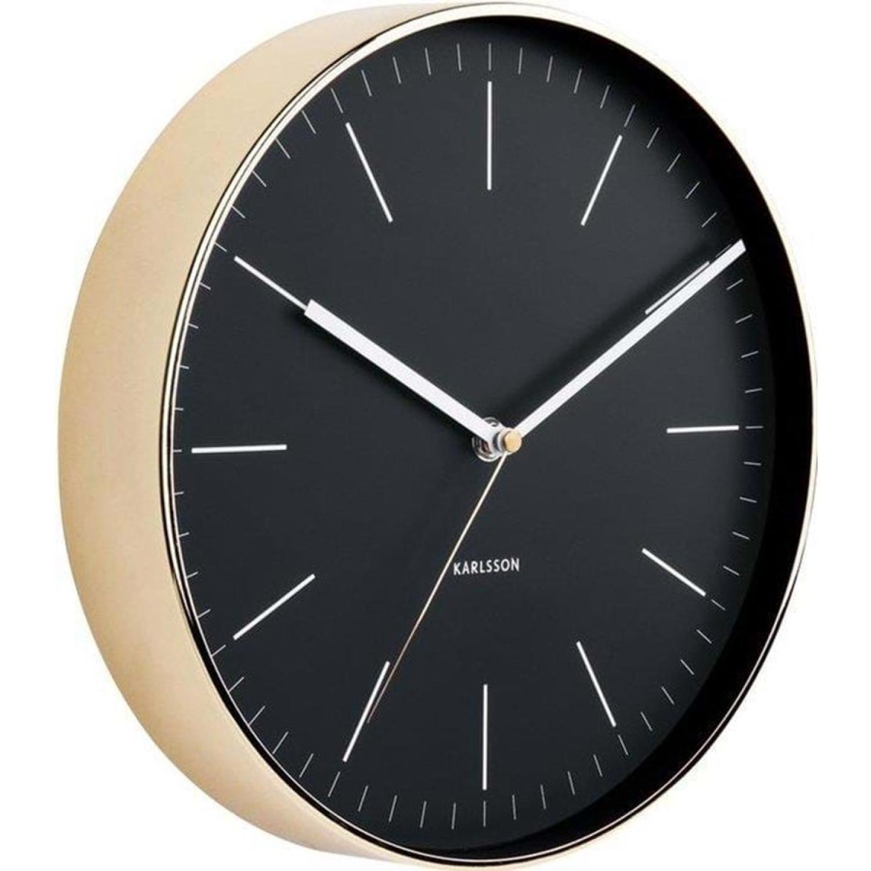 Image of   Karlsson Wall clock Minimal black - KA5695BK