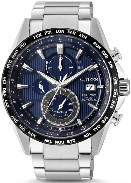 Image of   Citizen Eco-Drive Radio AT8154-82L