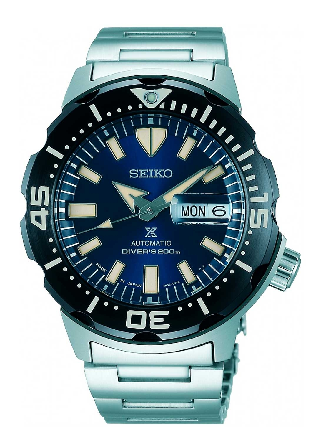 Image of   Seiko Prospex Monster Automatic Diver SRPD25K1