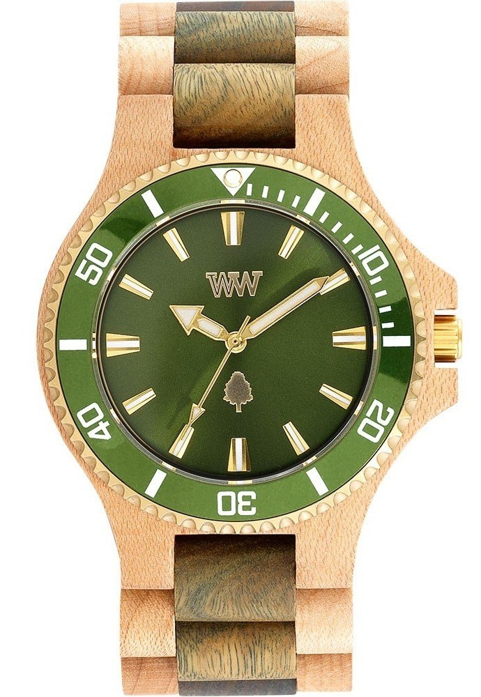Image of   WeWOOD Date MB Beige Army Green