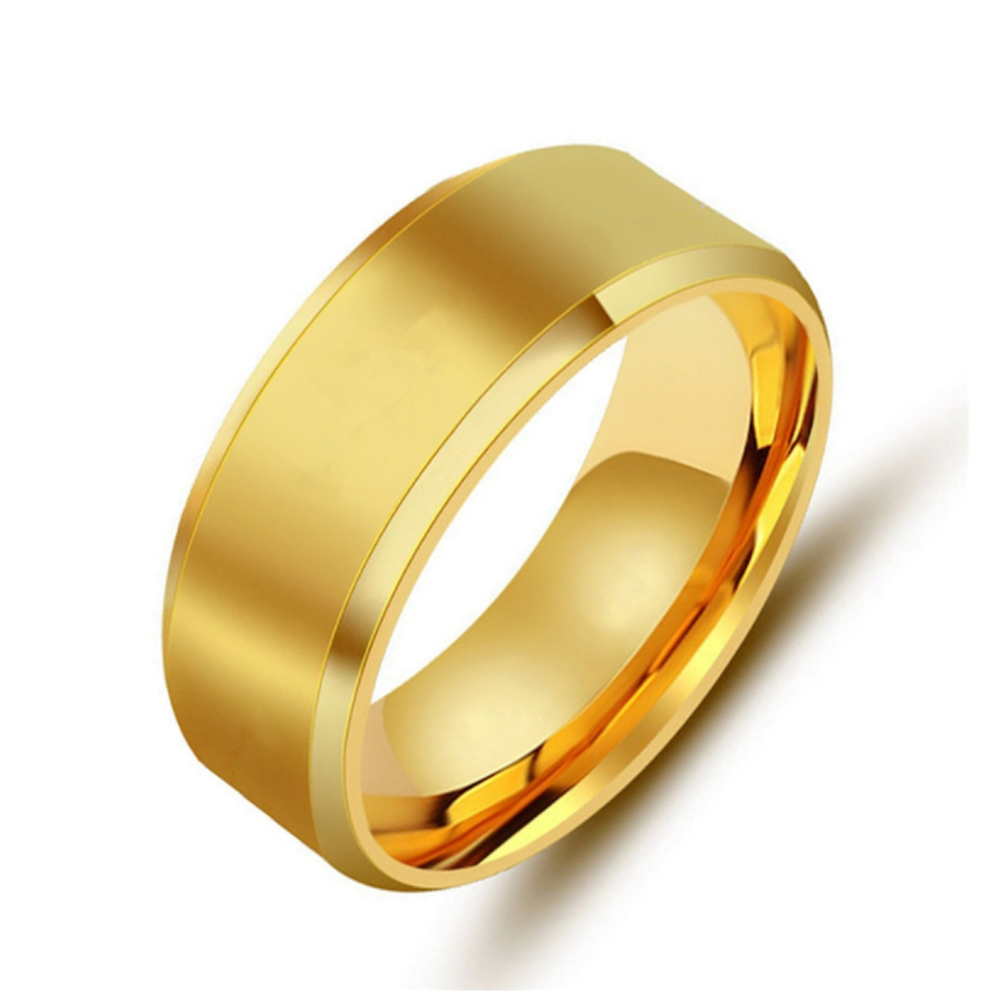 Image of   Klassisk guld ring
