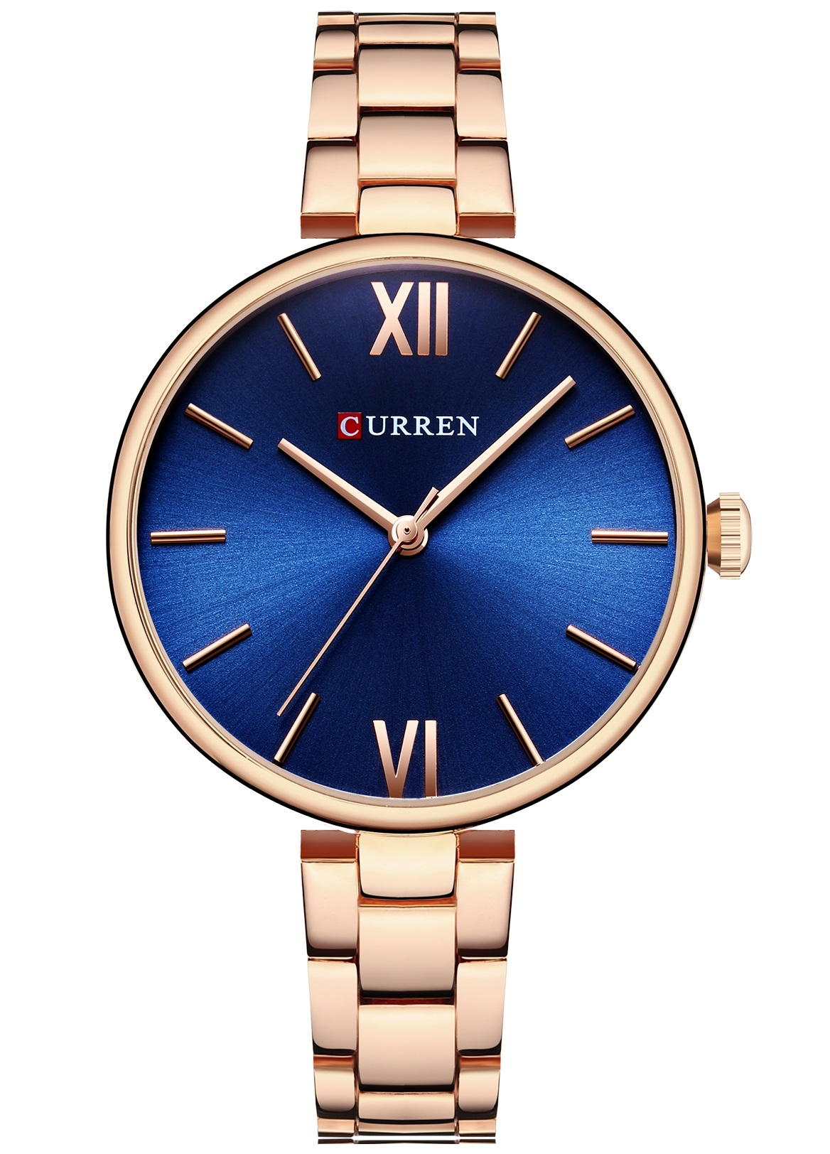 Image of   Curren Ladies Steel Gold/Blue