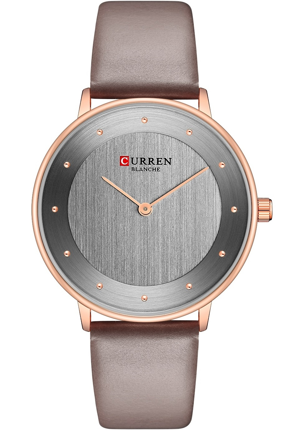 Image of   Curren Ladies Leather Grey