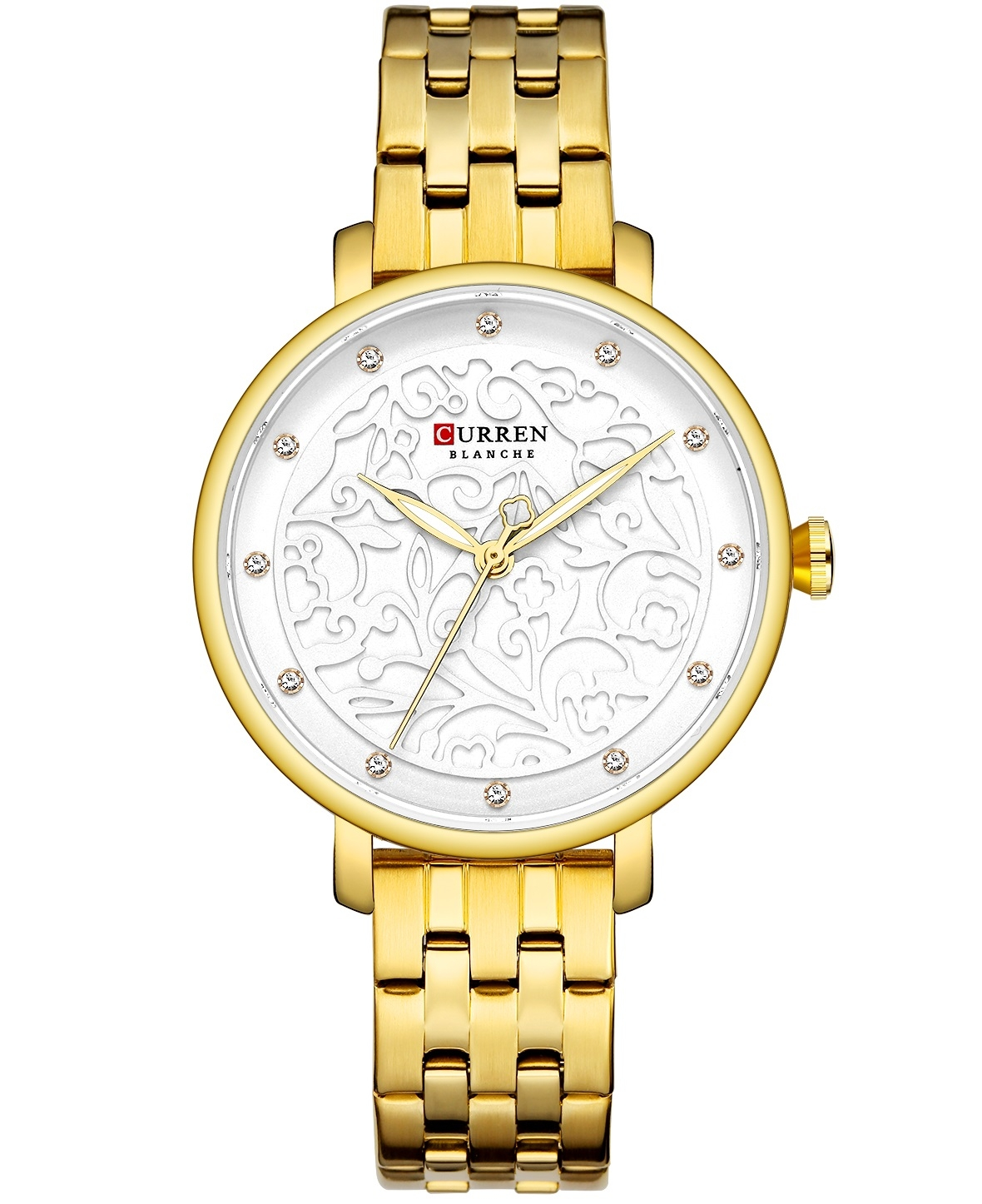 Image of   Curren Ladies Gold/White