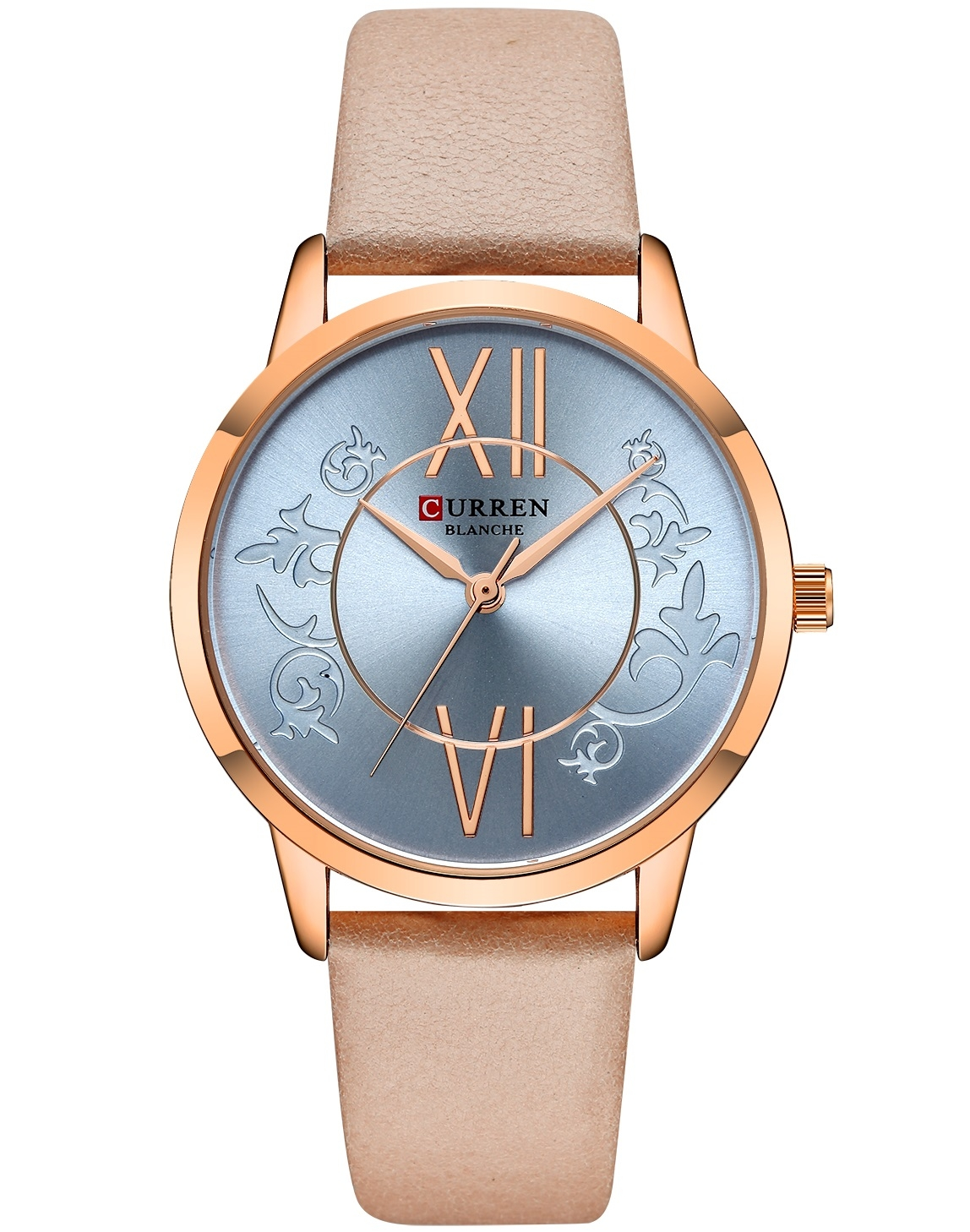 Image of   Curren Ladies Leather Blue