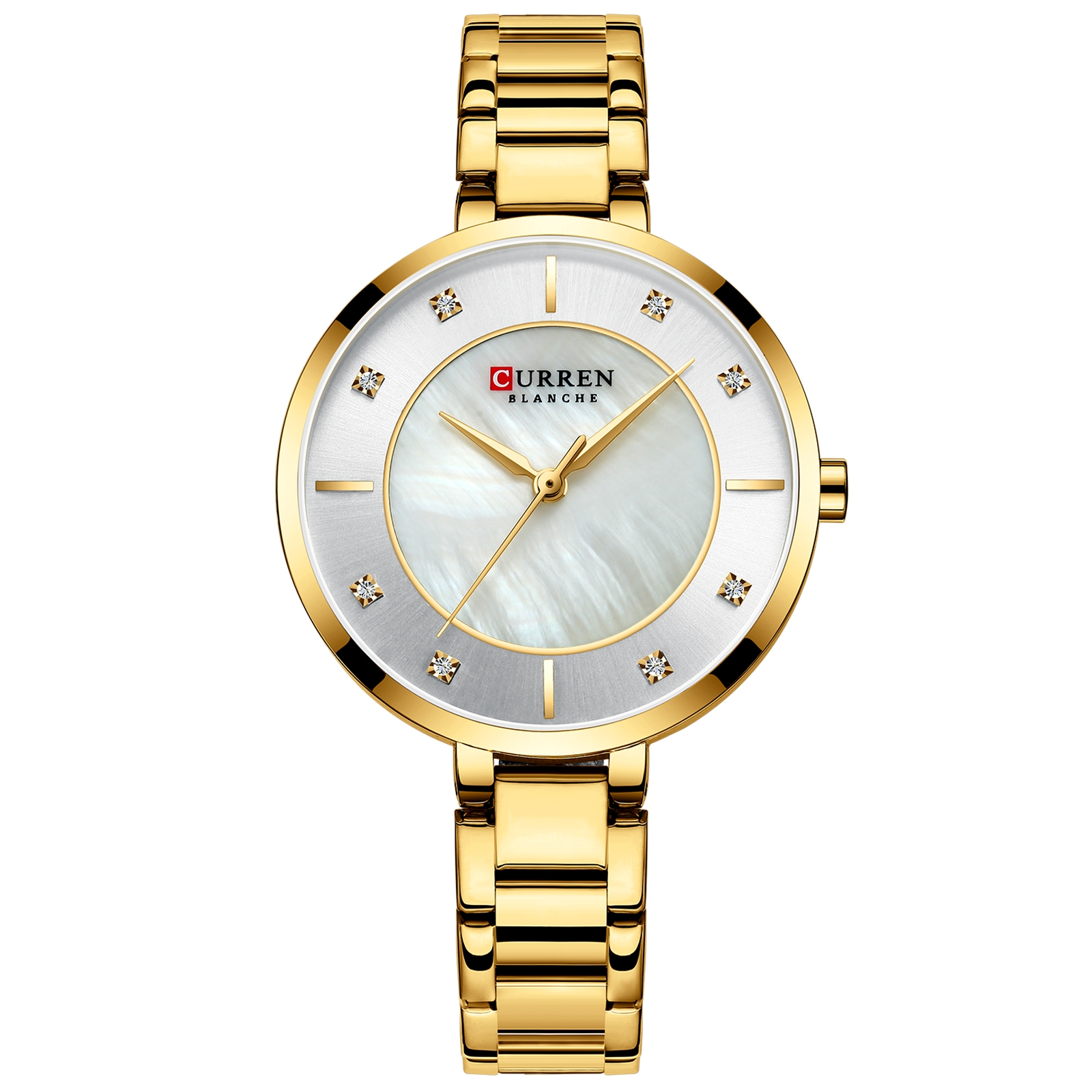 Image of   Curren Ladies Steel Gold/Steel