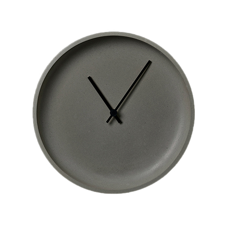 Køb LikeConcrete Ida Wall Clock 93783 Grey – 22 cm