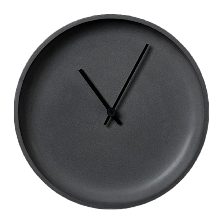 Køb LikeConcrete Ida Wall Clock 93787 Anthracite – 35 cm