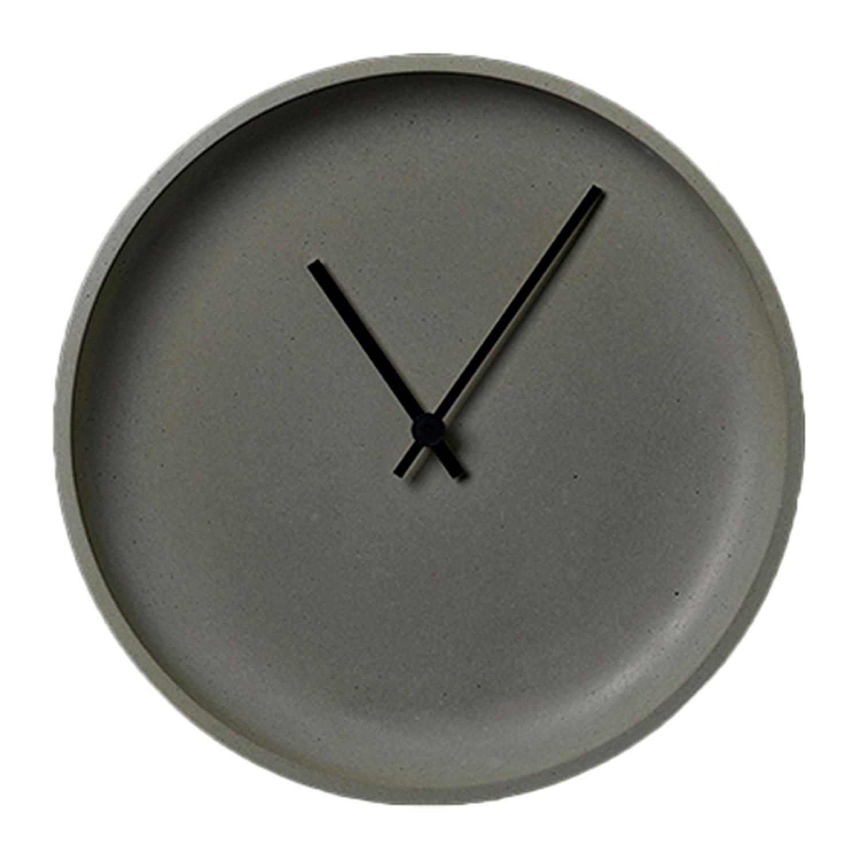 Køb LikeConcrete Ida Wall Clock 93788 Grey – 35 cm