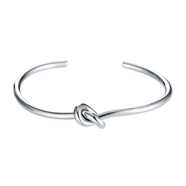Image of   Cuff armbånd knot silver