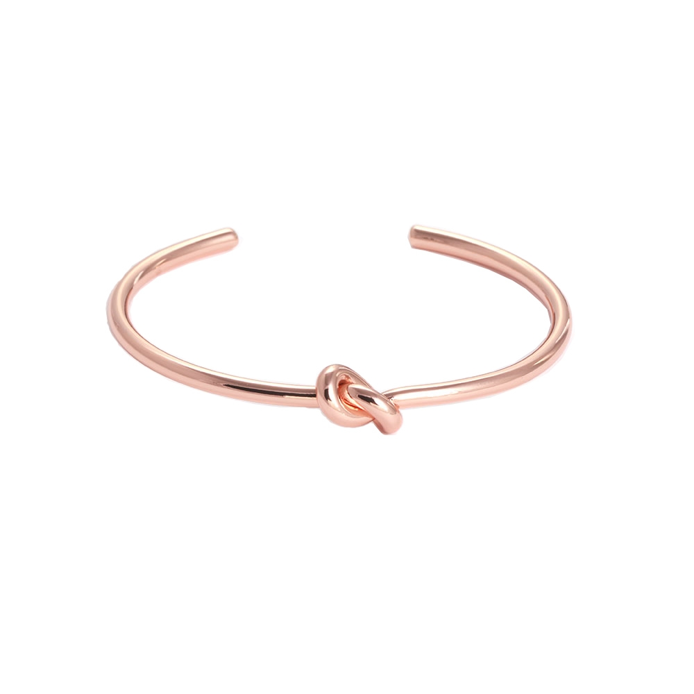 Image of   Cuff armbånd knot rose gold