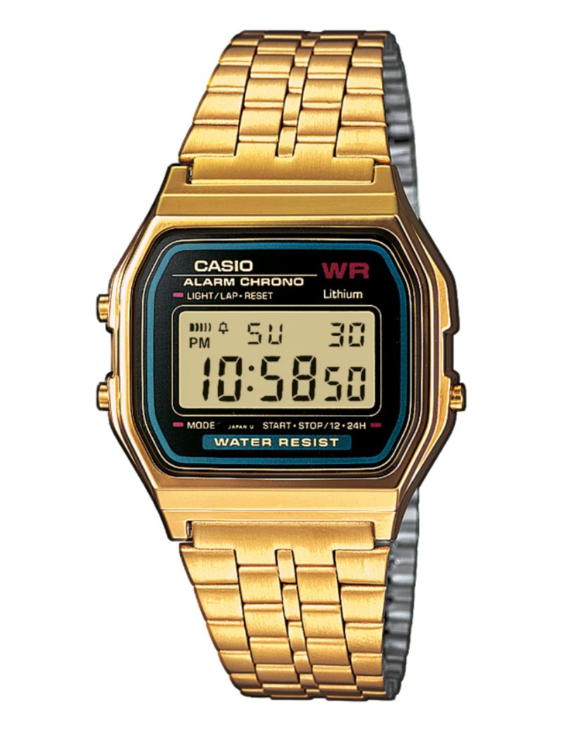 Image of   Casio Classic Retro Gold/Black