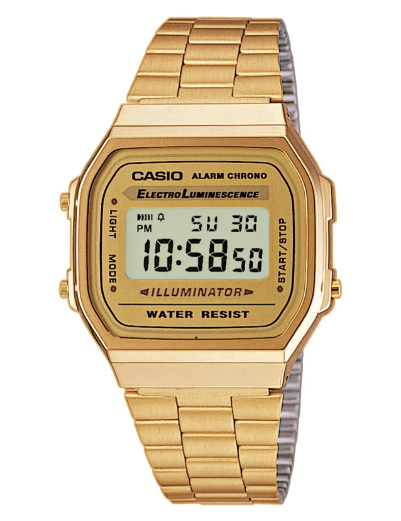 Casio Classic Retro Gold