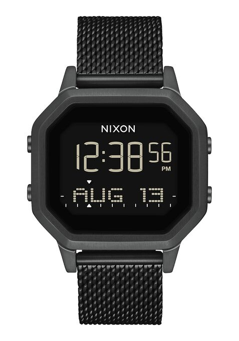 Image of   Nixon Sirene Milanese All Black
