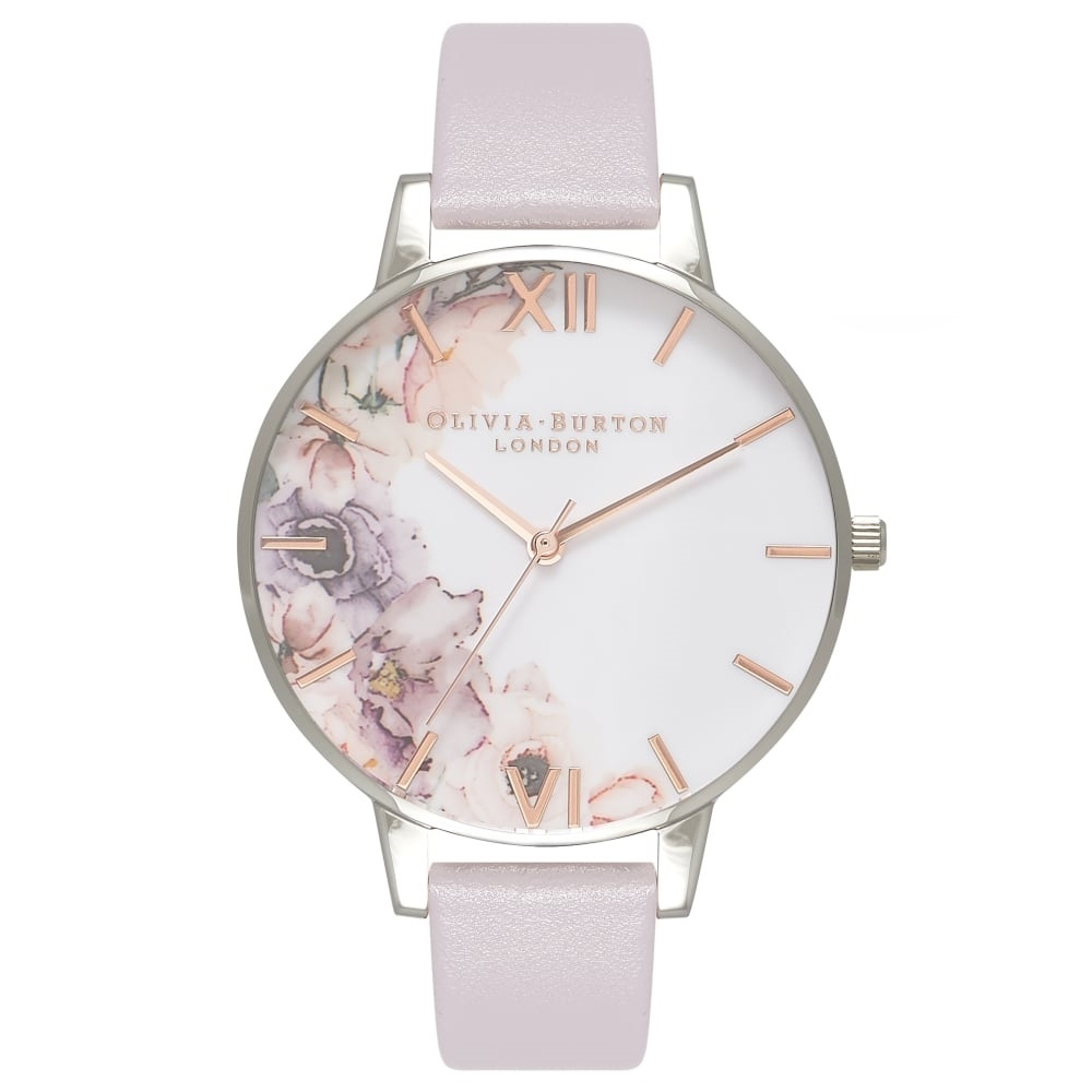 Image of   Olivia Burton Grey Lilac, Rose Gold & Silver