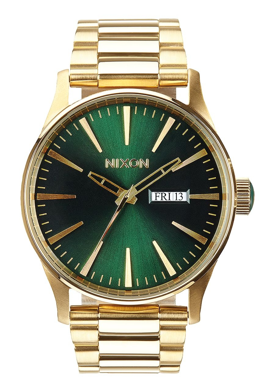Image of   Nixon Sentry SS All Gold/Green