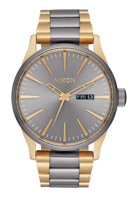 Image of   Nixon Sentry SS Gunmetal/Gold