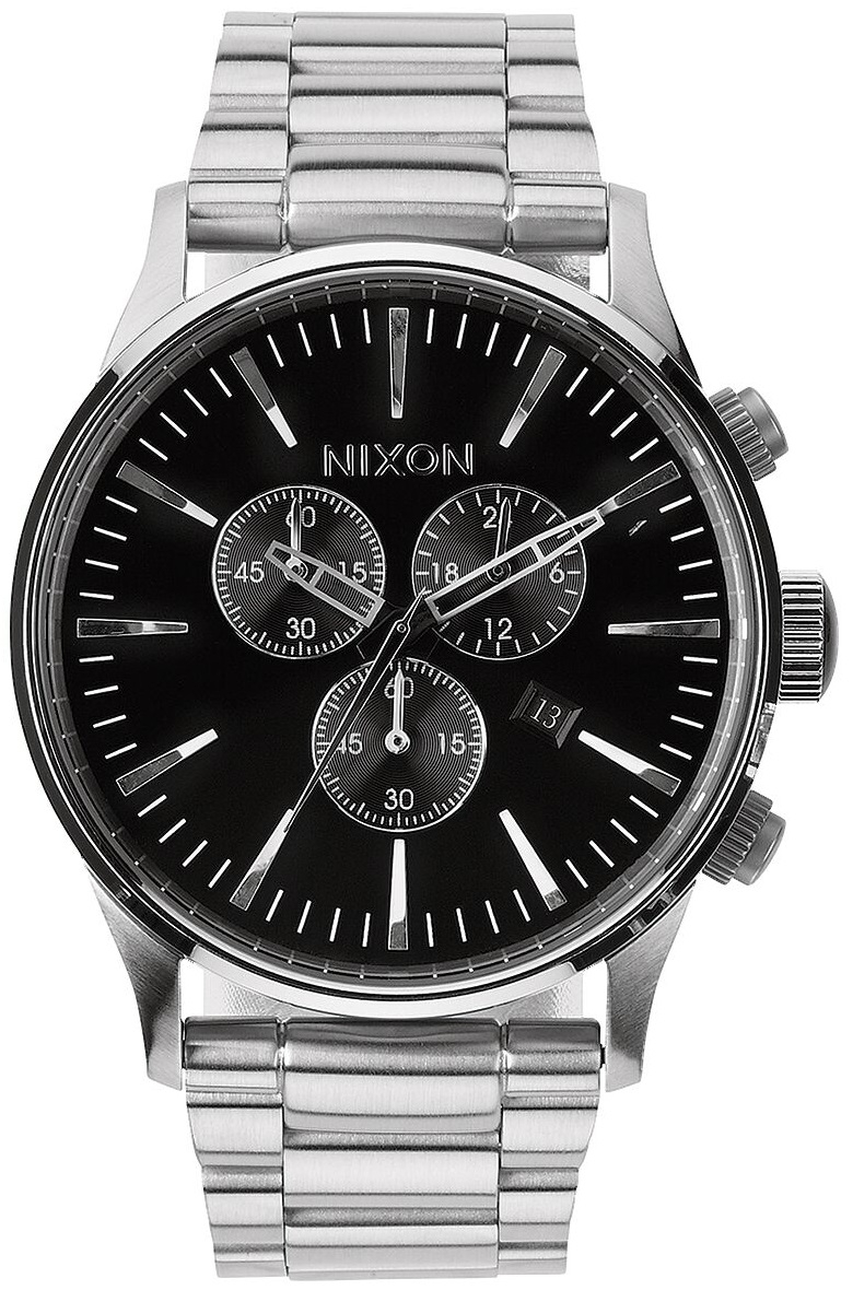 Image of   Nixon Sentry Chrono Black