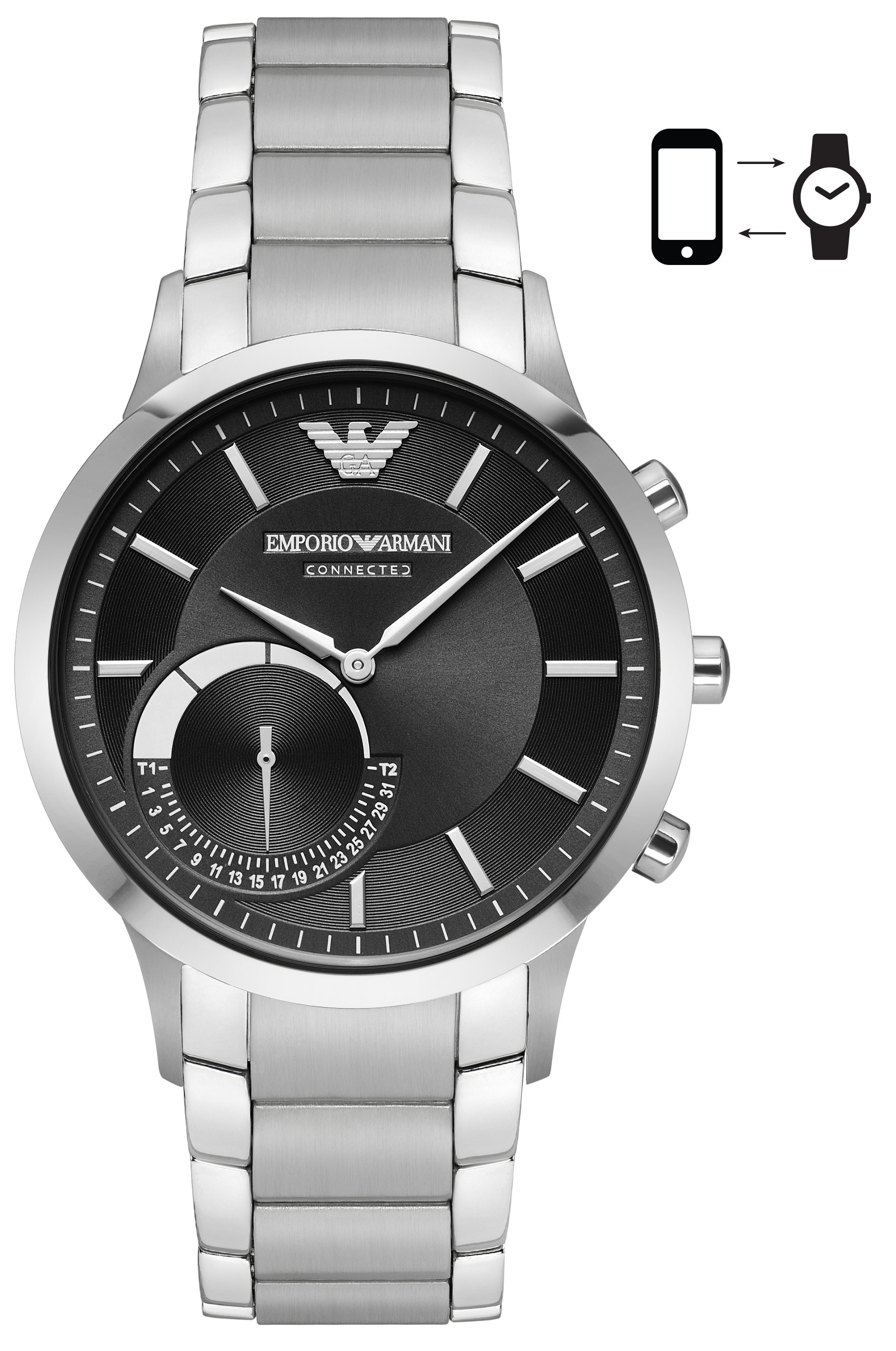 Image of   Emporio Armani Renato Connected Smartwatch Hybrid ART3000