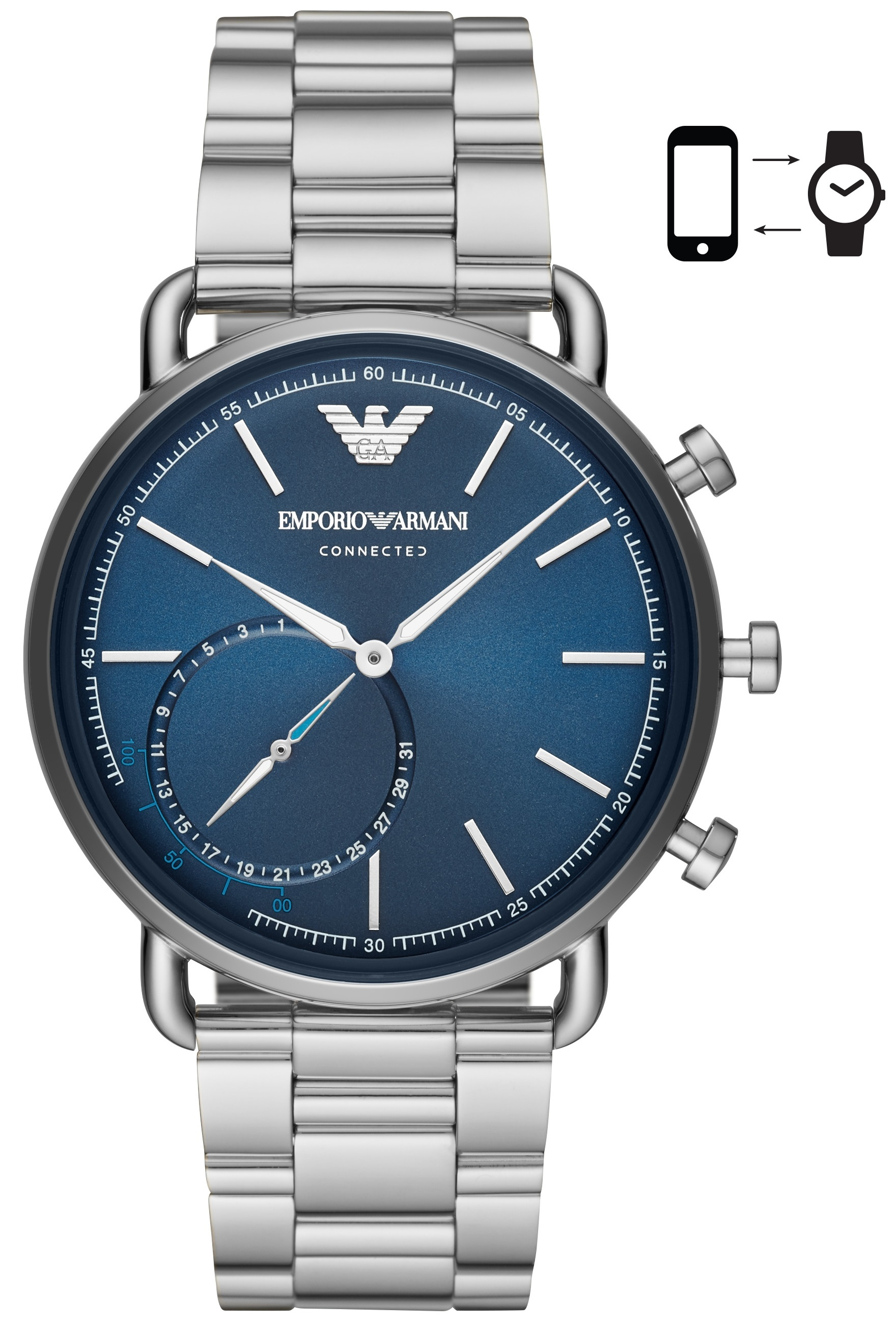 Image of   Emporio Armani Renato Connected Smartwatch Hybrid ART3028
