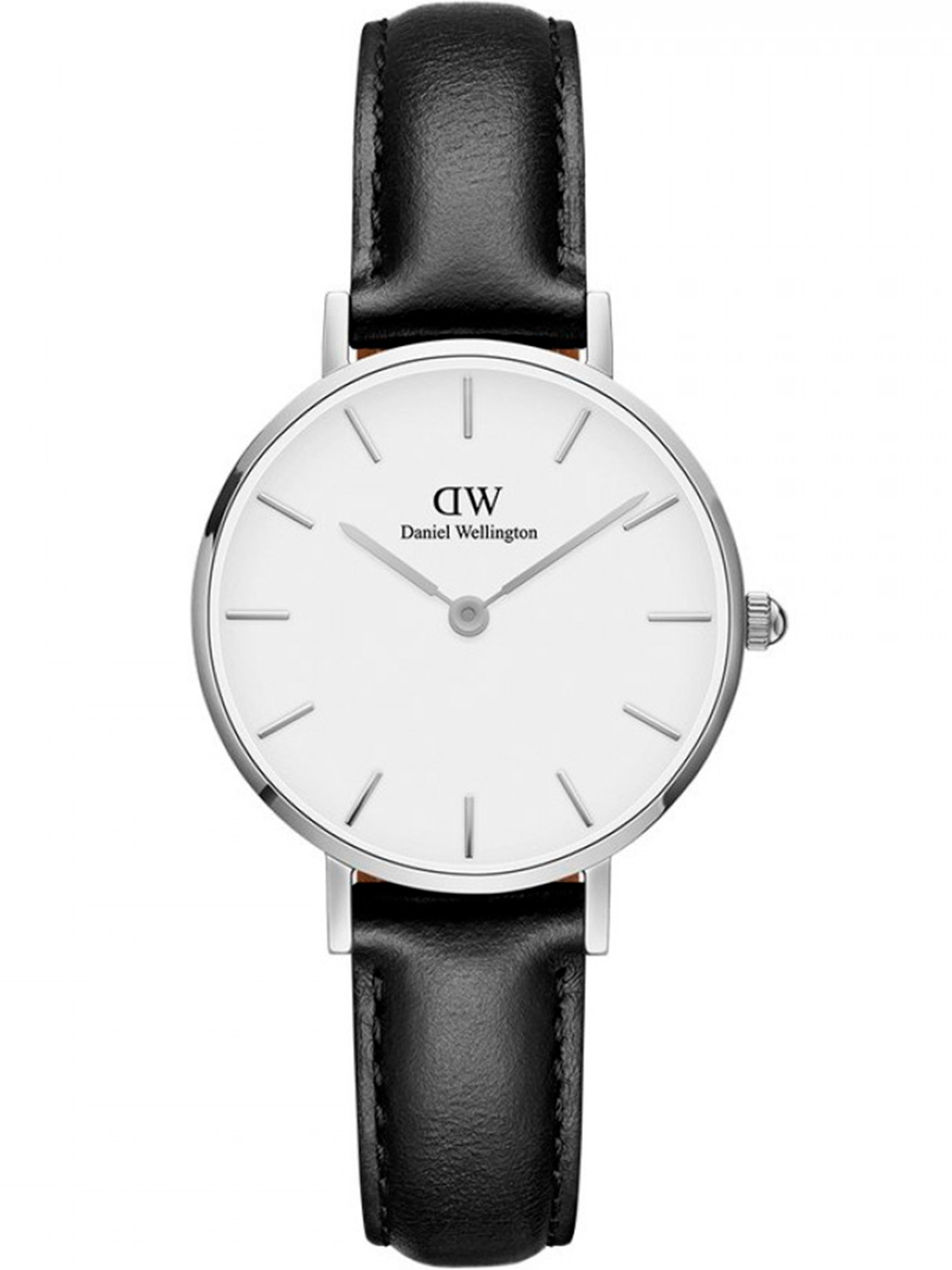 Image of   Daniel Wellington Classic Petite 28 Sheffield Steel White