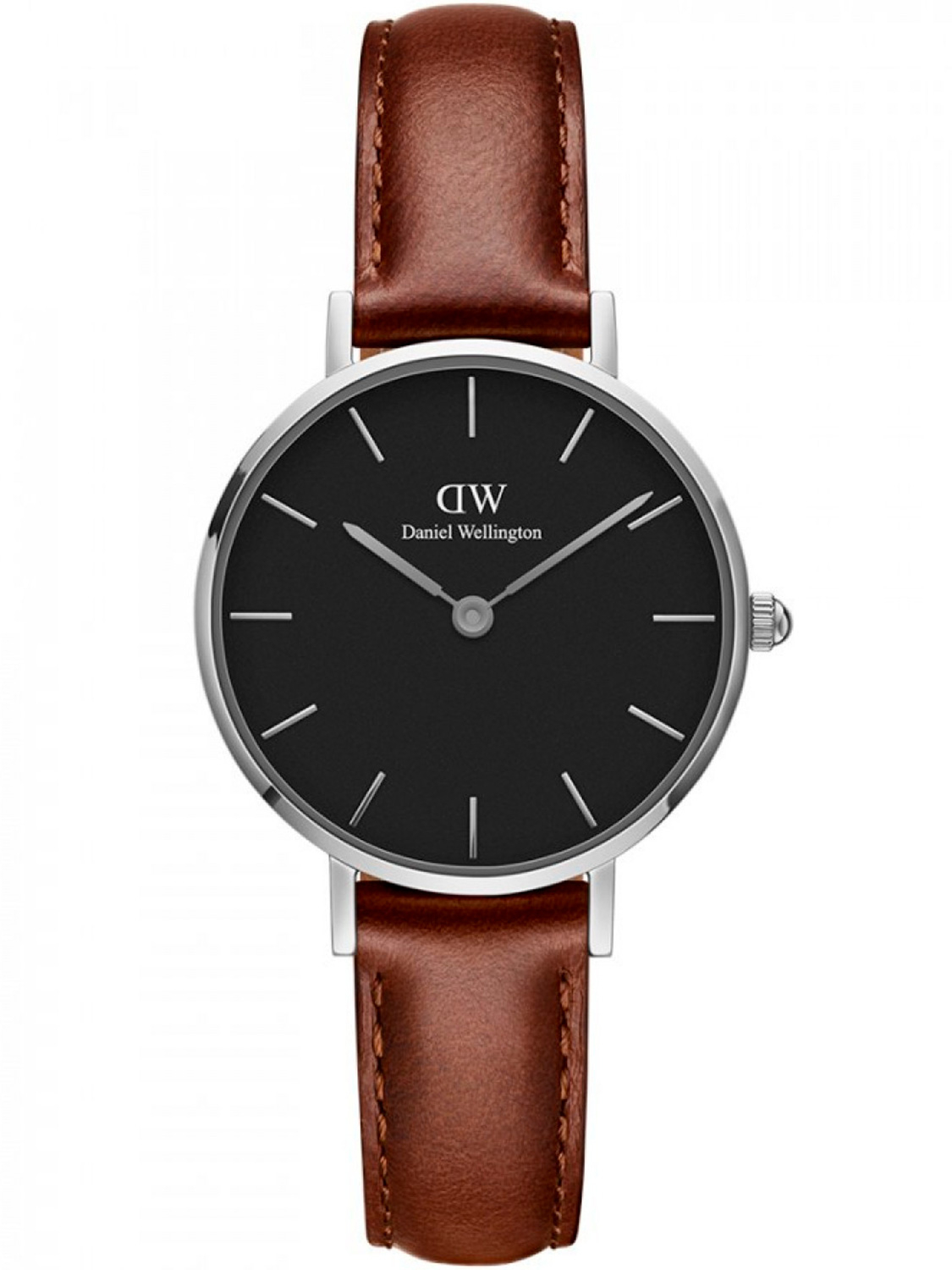 Image of   Daniel Wellington Classic Petite 28 St Mawes Steel Black