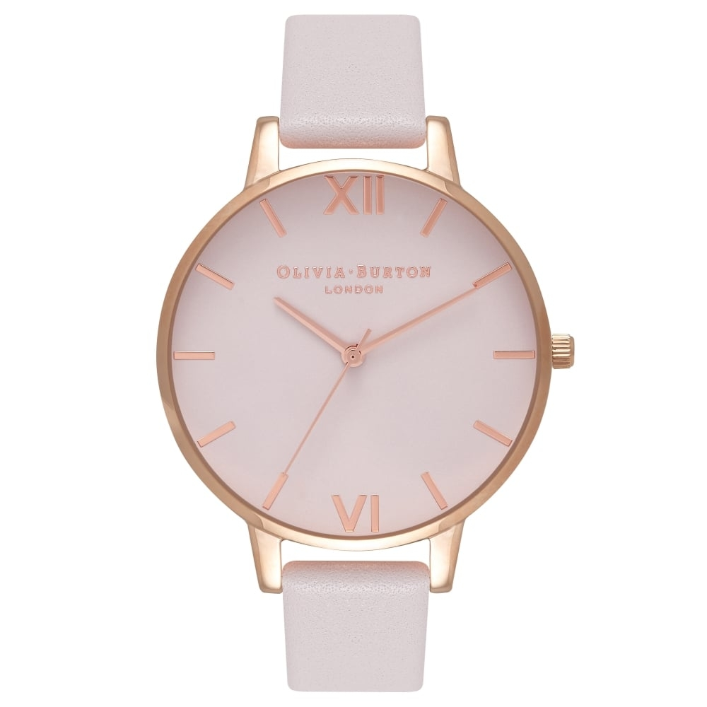 Image of   Olivia Burton Big Dial Blush & Rose Gold
