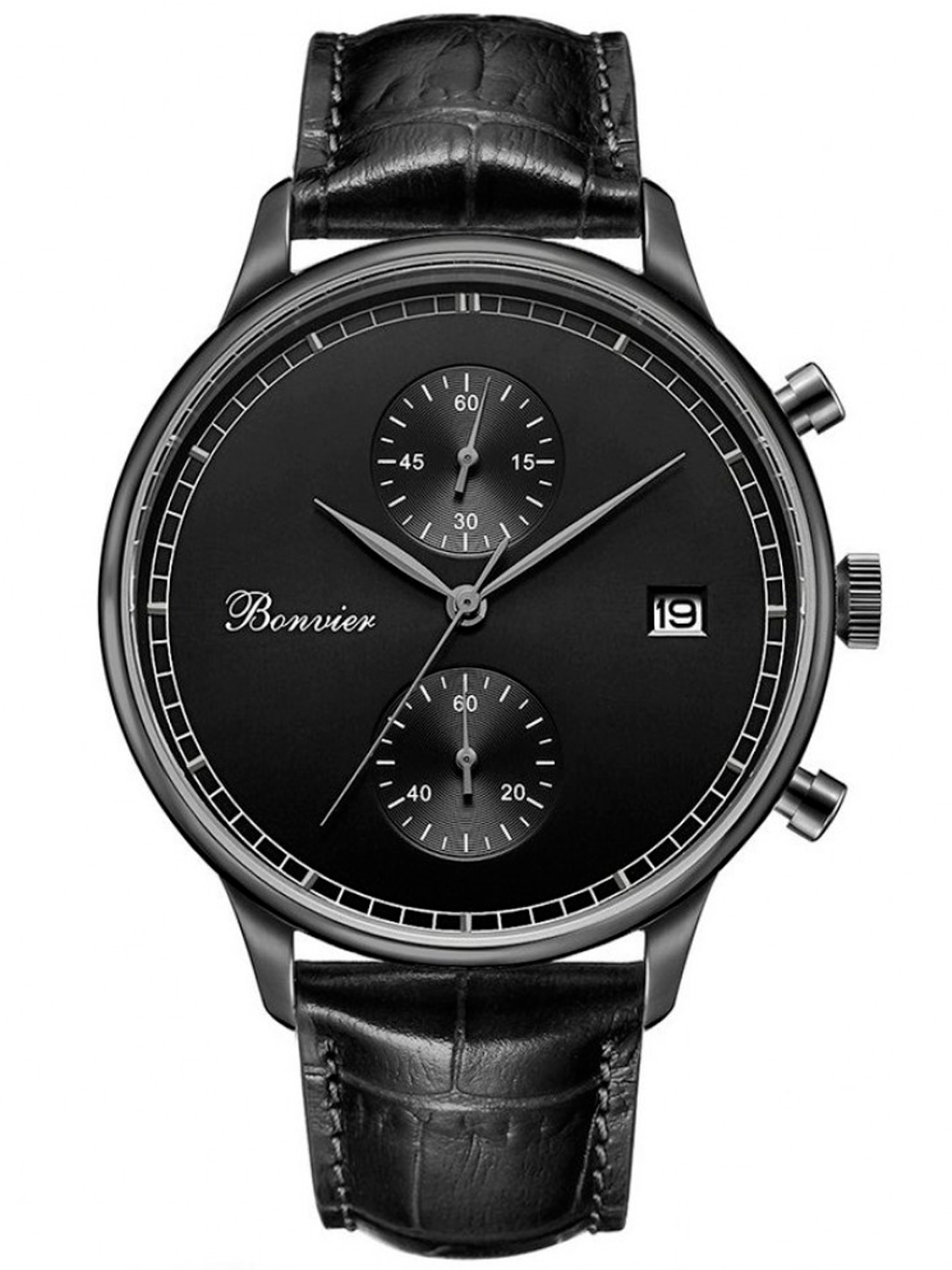 Image of   Bonvier Lugano Black