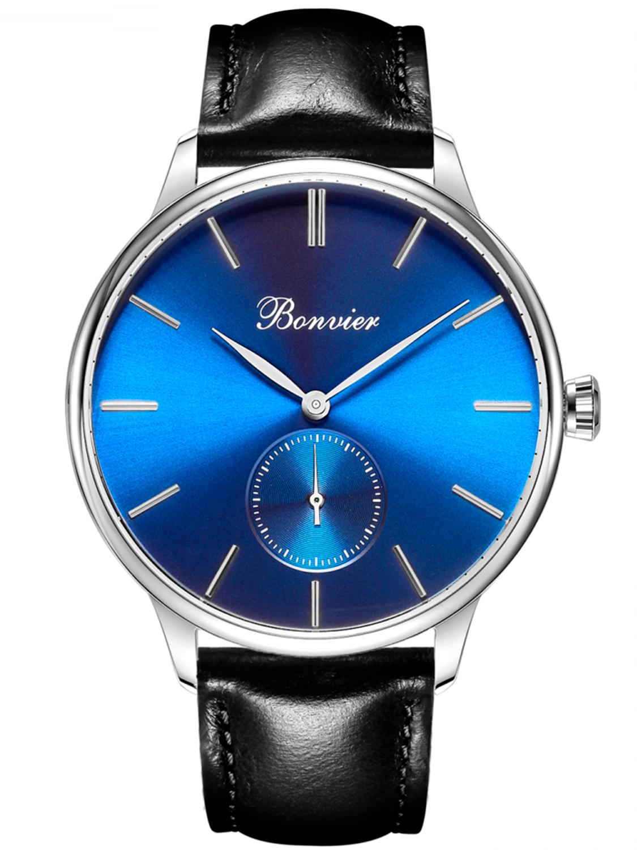 Image of   Bonvier Navona Blue/Silver