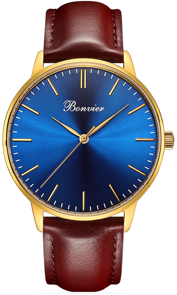 Image of   Bonvier Classic Blue/Gold