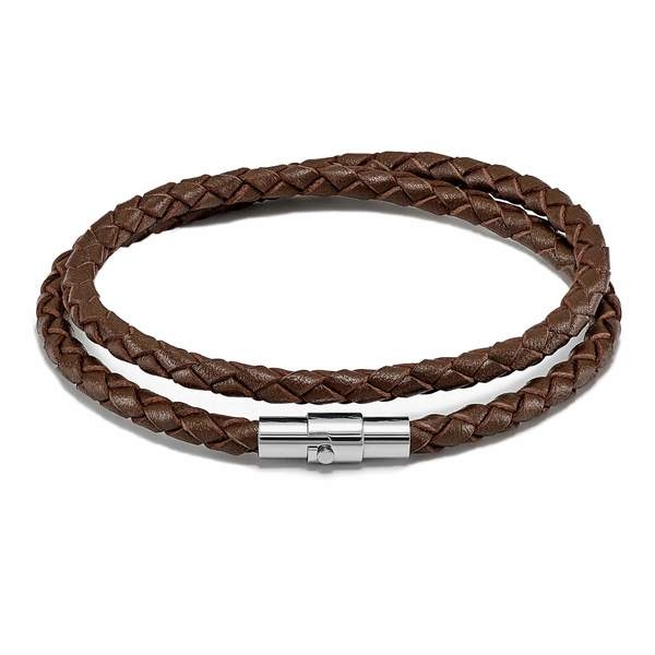 Image of   Vincero Bracelet Brown/Silver