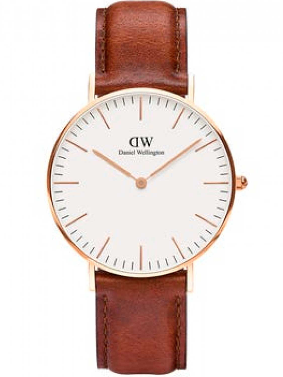 Image of   Daniel Wellington Classic 40 St Maws Gold White
