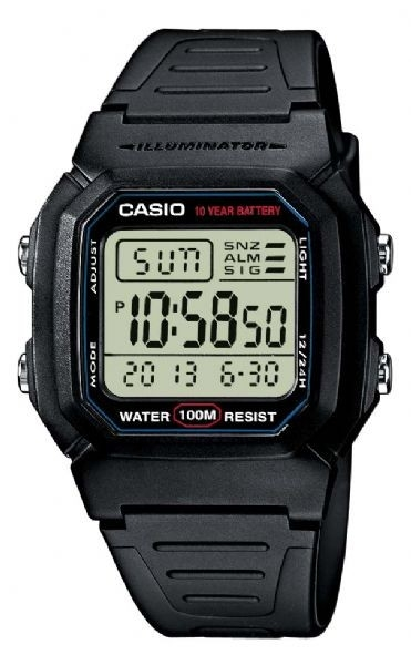 Image of   Casio Collection W-800H-1AVES