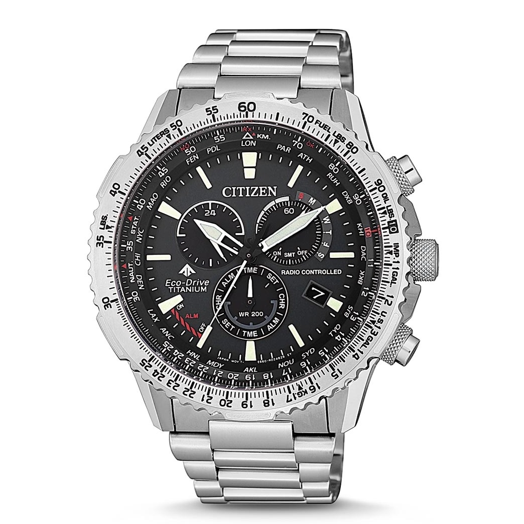 Image of   Citizen Eco-Drive Radio CB5010-81E