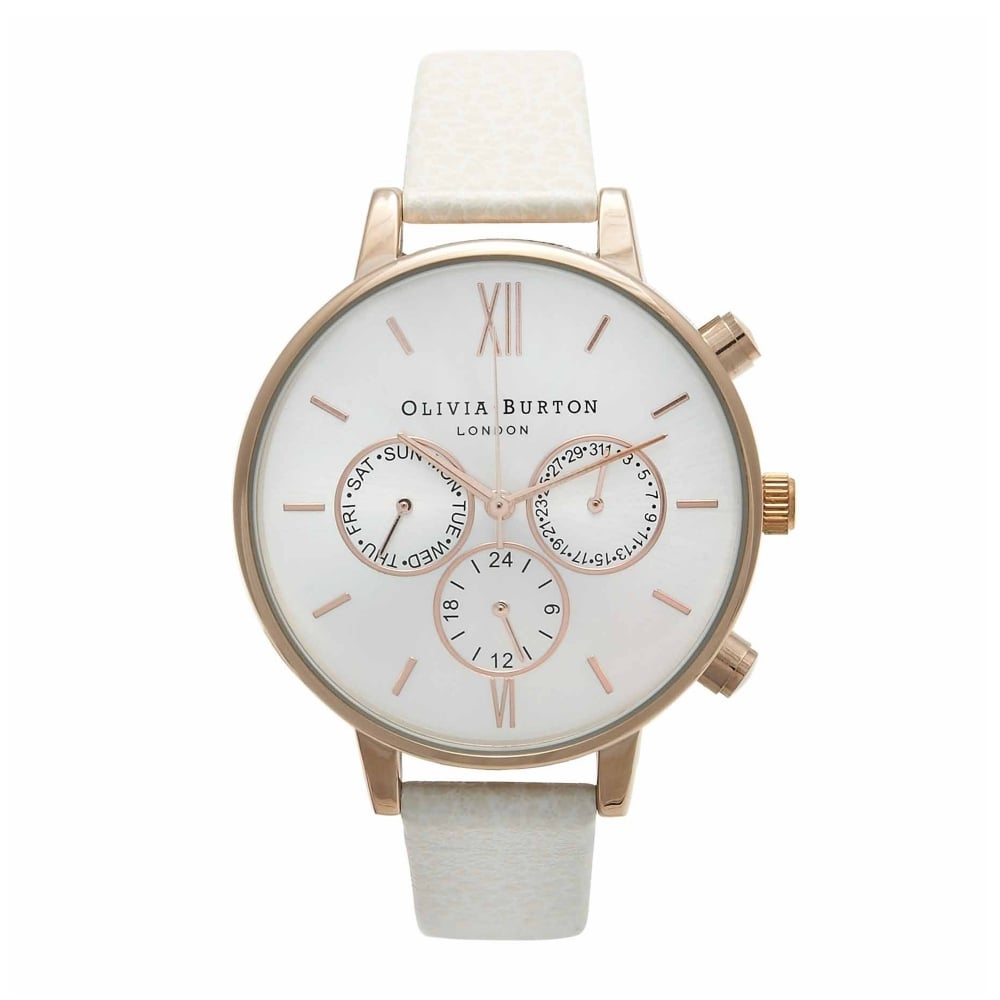 Olivia Burton Core Chrono Detail Mink & Rose Gold