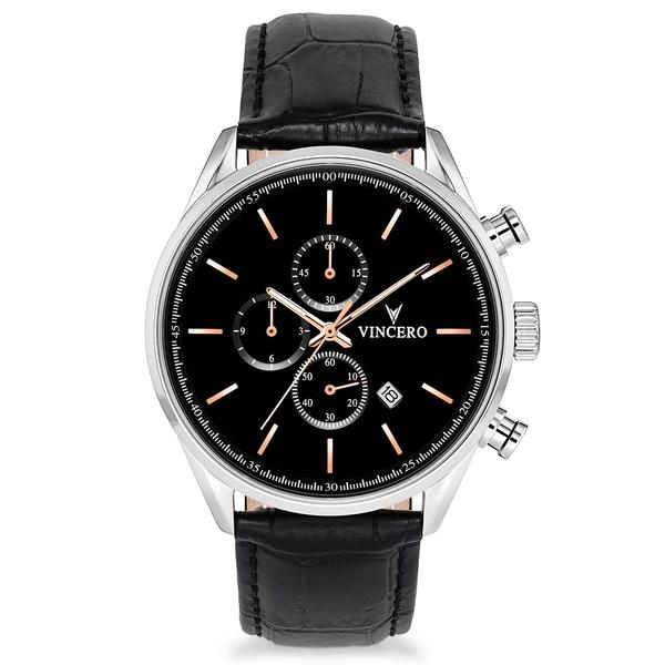 Image of   Vincero Chrono S Black/Rose Gold