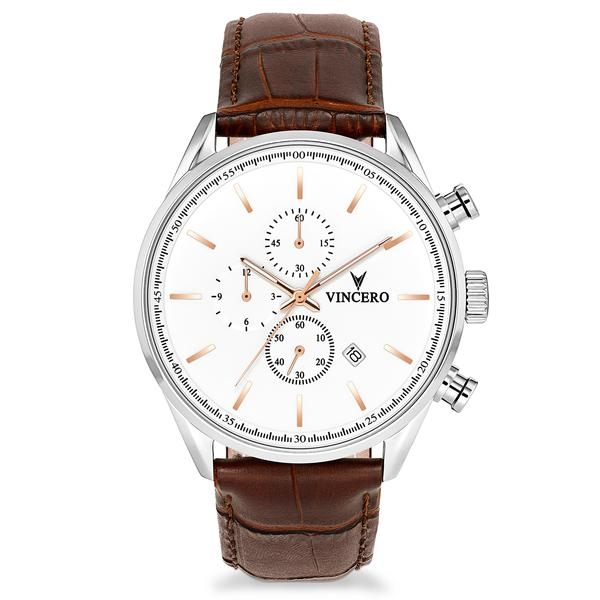 Vincero Chrono S White/Gold