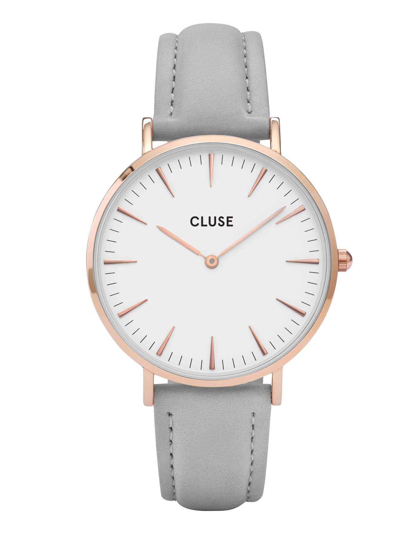 Image of   Cluse La Bohéme Rose Gold White/Grey
