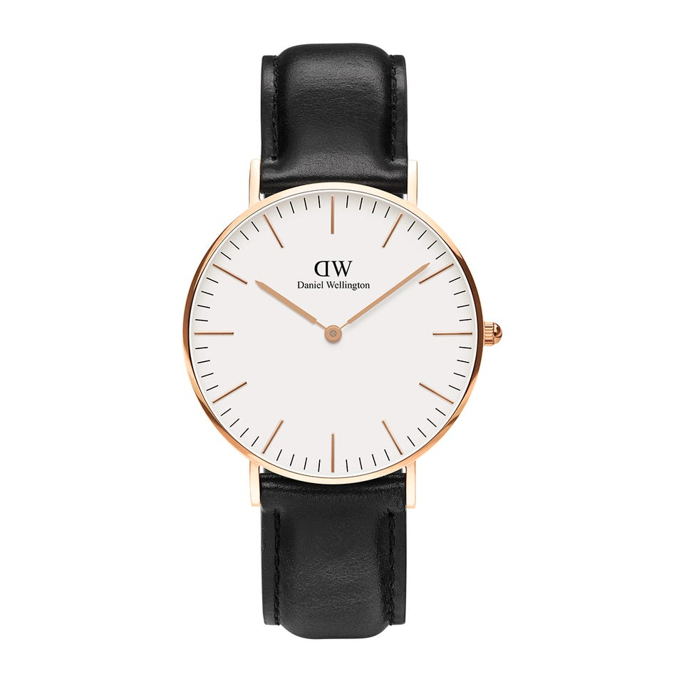 Image of   Daniel Wellington Classic 36 Sheffield Gold White