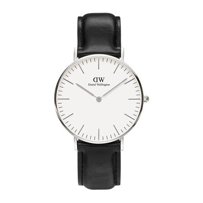 Image of   Daniel Wellington Classic 36 Sheffield Steel White