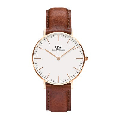 Image of   Daniel Wellington Classic 36 St Maws Gold White