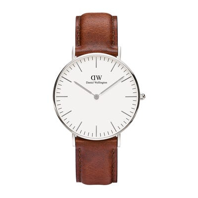 Image of   Daniel Wellington Classic 36 St Maws Steel White