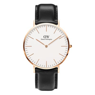 Image of   Daniel Wellington Classic 40 Sheffield Gold White