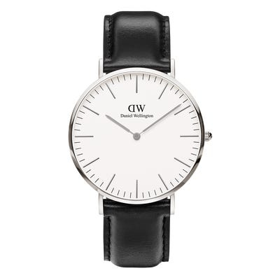 Image of   Daniel Wellington Classic 40 Sheffield Steel White