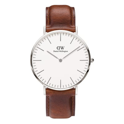Image of   Daniel Wellington Classic 40 St Maws Steel White