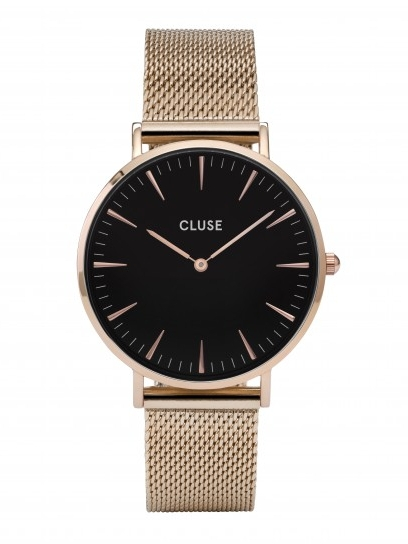 Cluse La Bohéme Mesh Rose Gold/Black