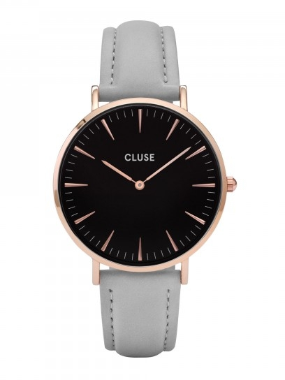 Image of   Cluse La Bohéme Rose Gold Black/Grey
