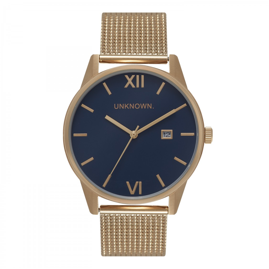 UNKNOWN The Dandy Navy Dail and Gold Mesh-30